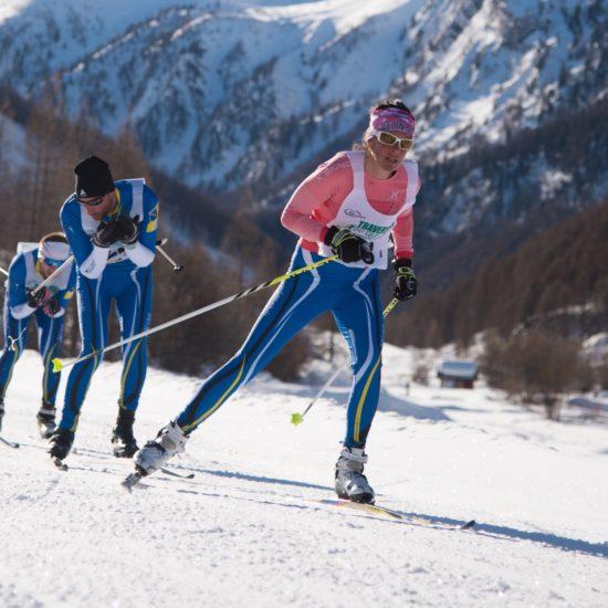 Traversée du Queyras - Compétition de Ski Nordique